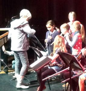 Recorder Group in SaMM Concert